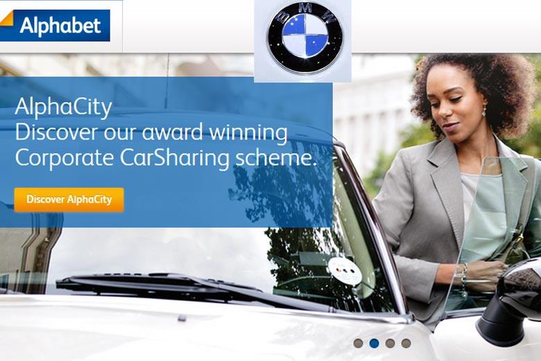 شركة BMW تنظر في انتهاك قوقل لعلامتها التجارية Alphabet