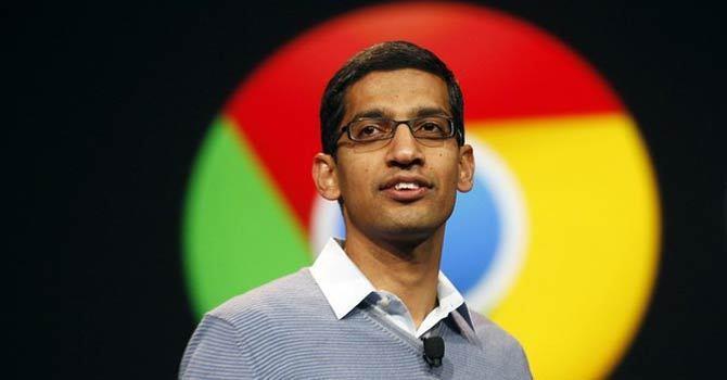 قصة تؤكد استحقاق سندار بيشاي لإدارة جوجل