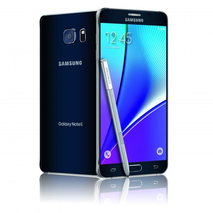 مواصفات الهاتف اللوحي Galaxy Note 5