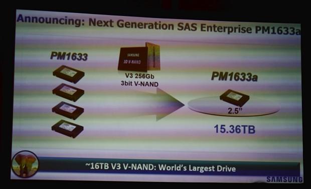 سامسونج تكشف عن أكبر قرص صلب SSD سعة 16 تيرابايت