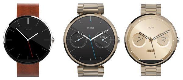 الجيل الجديد من ساعة موتو 360 قادم بقياسين مختلفين