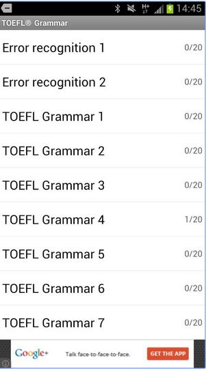 تحميل تطبيقات أندرويد للإستعداد لإختبار التوفل TOEFL