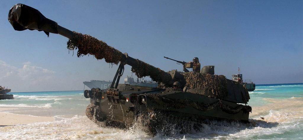 سامسونج اعتادت صنع الأسلحة وتقنيات الحماية في الماضي مثل الدبابة K9 Thunder