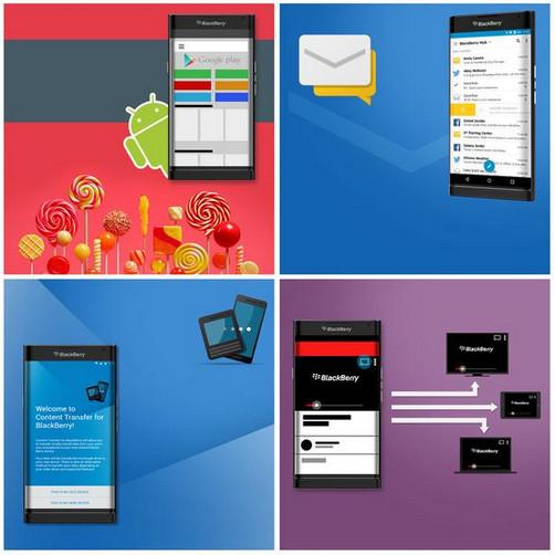 صور جديدة لجوال بلاك بيري Blackberry Venice بنظام أندرويد