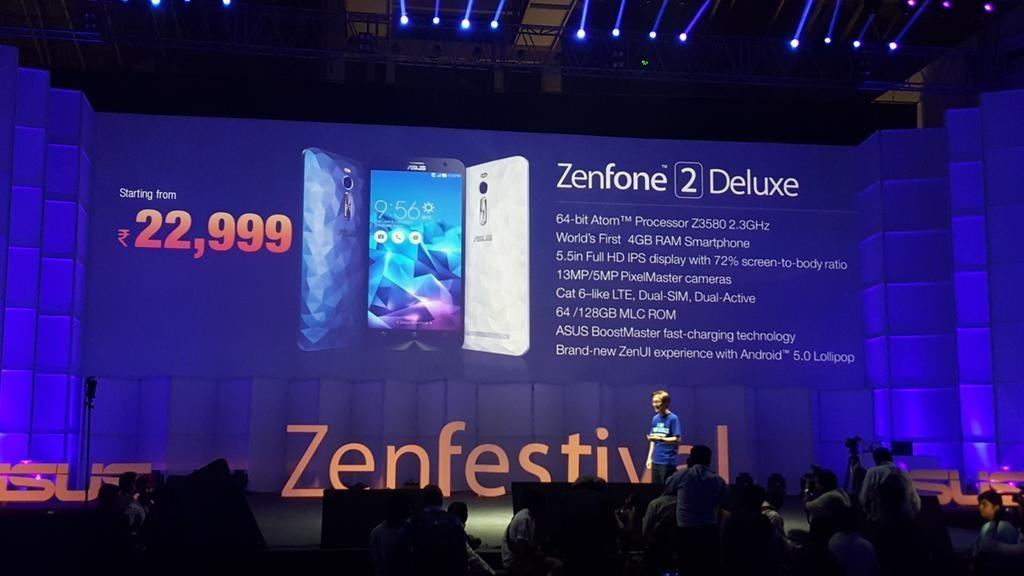 ���� ���� ���� ���� �� ZenFone 2 Deluxe ������ ������ 256 ��������