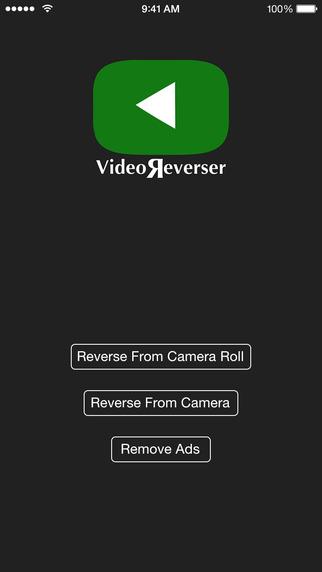 ����� Video Reverser ���� ����� ������� ��� ����� ������� �� iOS