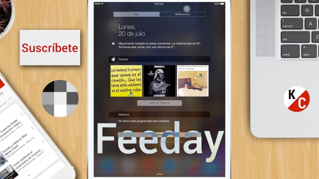 تطبيق Feeday المجاني على iOS لمتابعة أحداثك في إنستجرام بمركز التنبيهات