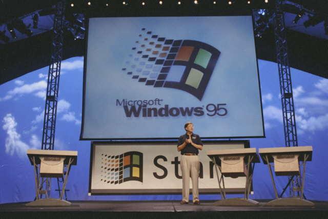 مرور 20 عام على إطلاق ويندوز 95