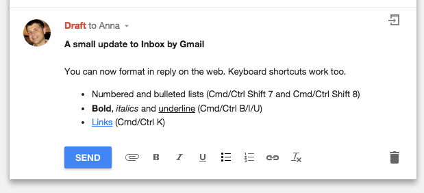������ ���������� Inbox ��� ����� ���� ��� ���� ����� ����