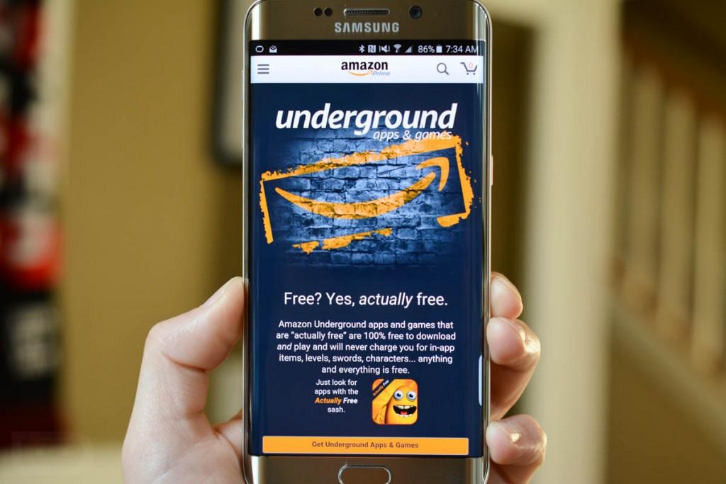 متجر Amazon Underground لتحميل آلاف التطبيقات المدفوعة مجانا