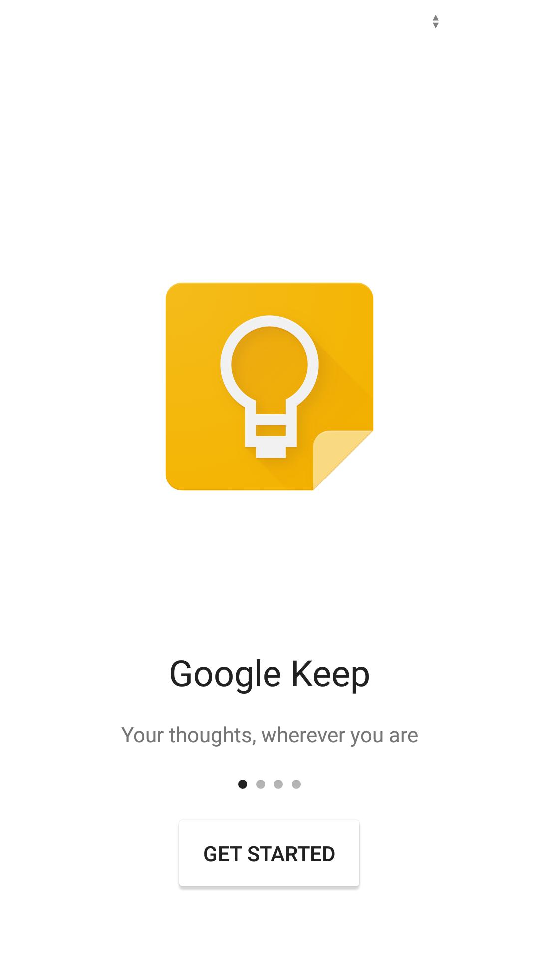 تحديث تطبيق ملاحظات قوقل Google Keep على أندرويد