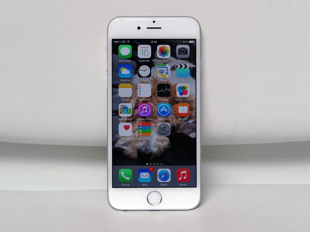 هاتف آيفون 6 إس سيأتي بنفس سعة التخزين الموجودة في الجيل الحالي