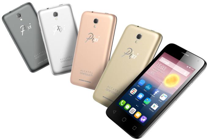 ألكاتيل تطلق هاتفين ولوحي أندرويد IFA 2015