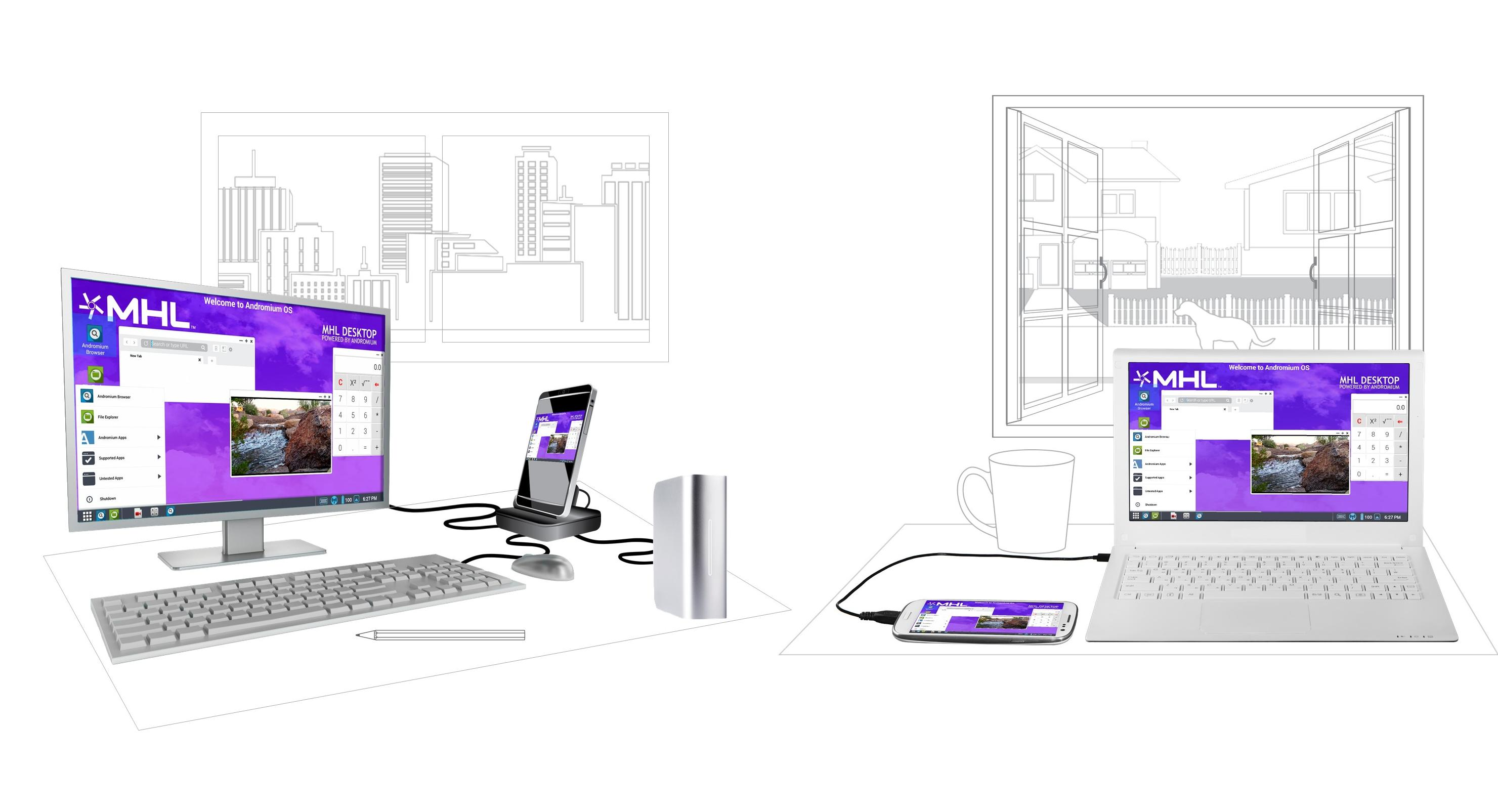 حول هاتفك الأندرويد لجهاز كمبيوتر بواسطة تطبيق Andromium OS