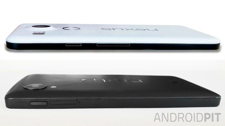 صور جانبية هاتف Nexus 5X مع هاتف نيكسوس 5