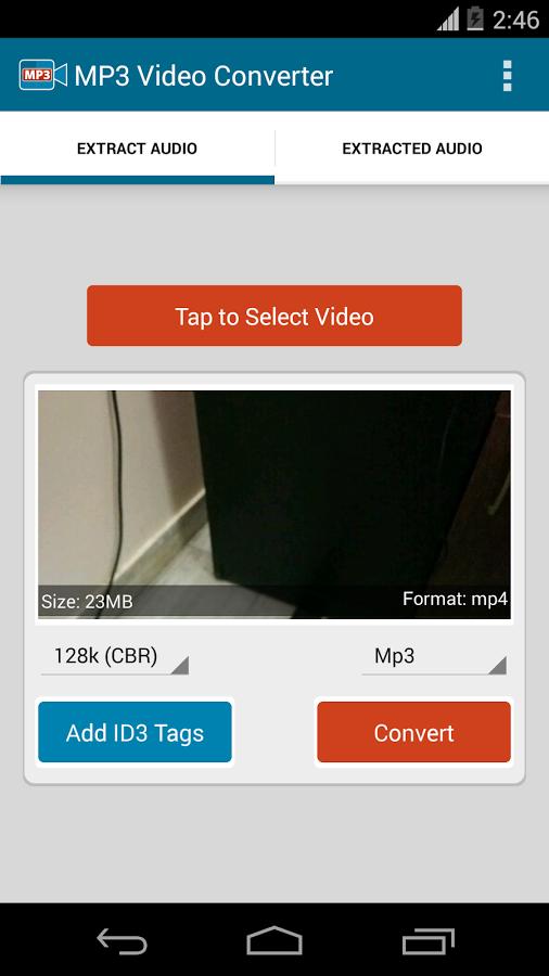 تحميل تطبيق MP3 Video Converter محول الفيديو إلى صوت على أندرويد