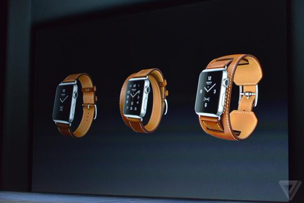 آبل تكشف عن سوار جلدي لساعة Apple Watch
