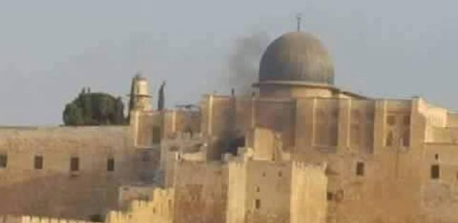 اقتحام قوات الاحتلال باحة المسجد الأقصى ومهاجمة المصلي الاحد 13-9-2015 فلسطين