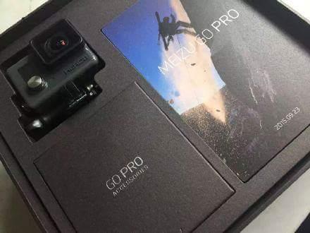 هاتف Meizu Pro 5 قادم في 23 سبتمبر مع كاميرا GoPro