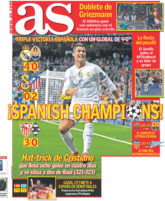 كريستيانو رونالدو سجل 8 أهداف ب 4 أيام
