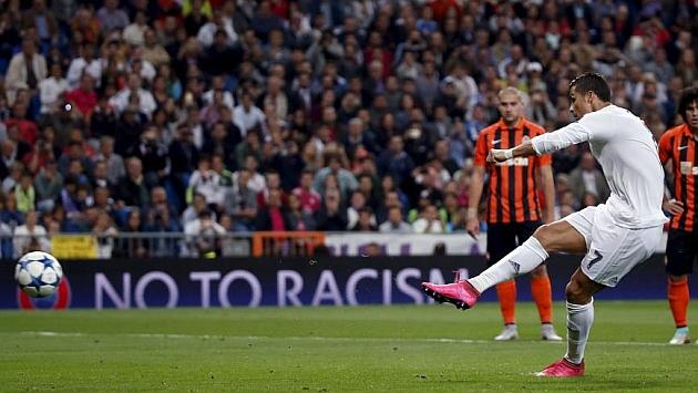 كريستيانو رونالدو اكثر لاعب سجل من ضربات جزاء في دوري الابطال