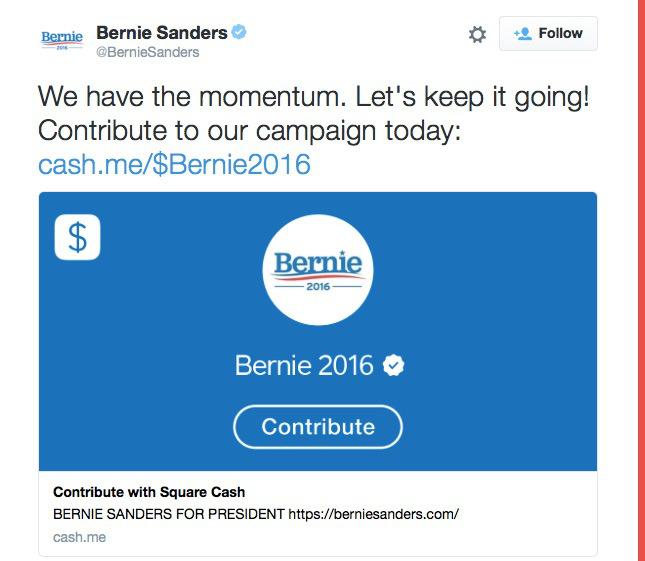 تويتر تتيح لمرشحي الرئاسة الأمريكية تلقي التبرعات عبر تغريدة