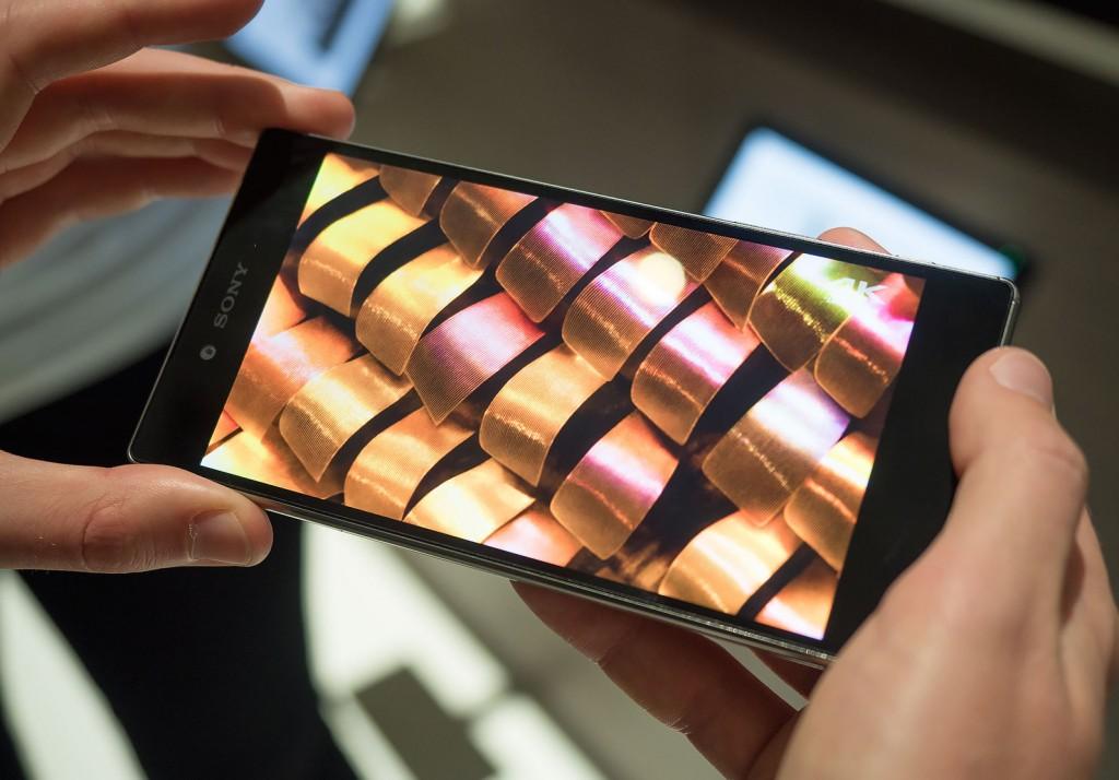 دقة 4K على سوني إكسبيريا زد 5 بريميوم ستعمل على الصور والفيديو فقط