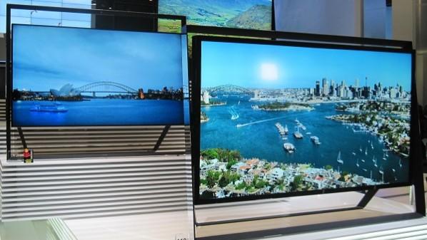 طرح أول تلفزيون بدقة 8K في العالم من شارب