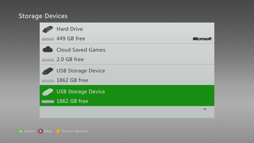 إكس بوكس 360 يحصل على تحديث كبير يضاعف مساحة التخزين السحابي حتى 2 غيغابايت