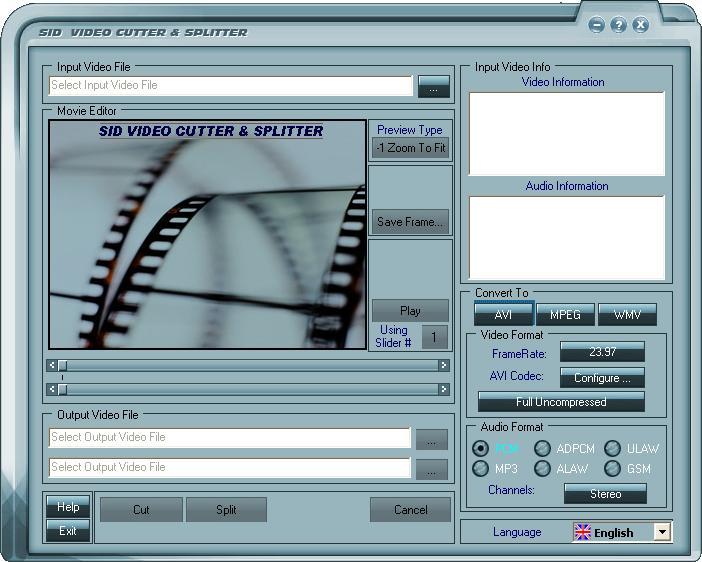 ������ ������ ������� Power Video Cutter