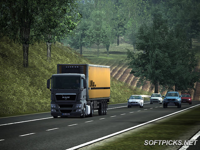 ������ ������� �� ���� �������� �������� German Truck Simulator �� ���� ������ ����