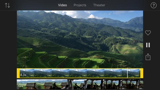 أبل تحدث تطبيقها iMovie على iOS بدعمه عرض الفيديو بدقة 4K