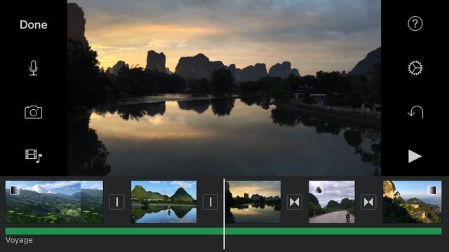 ��� ���� ������� iMovie ��� iOS ����� ��� ������� ���� 4K