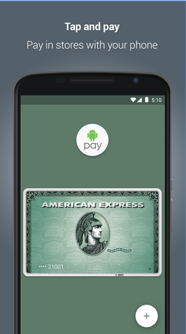 ����� ���� ����� Android Pay ��� ���� ���� �� ����