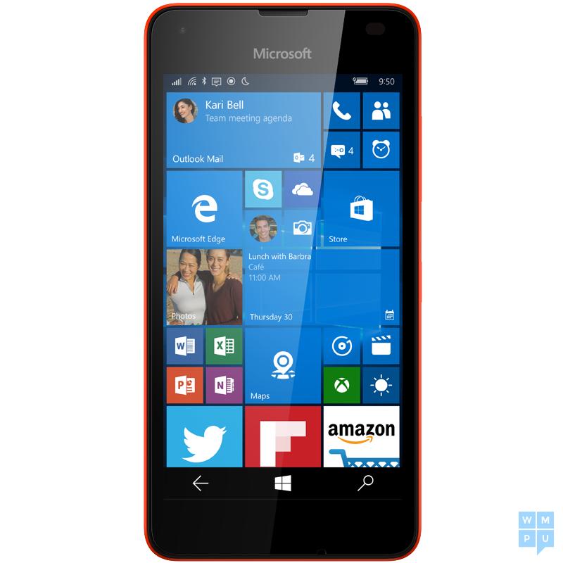 معلومات و صور هاتف lumia 550