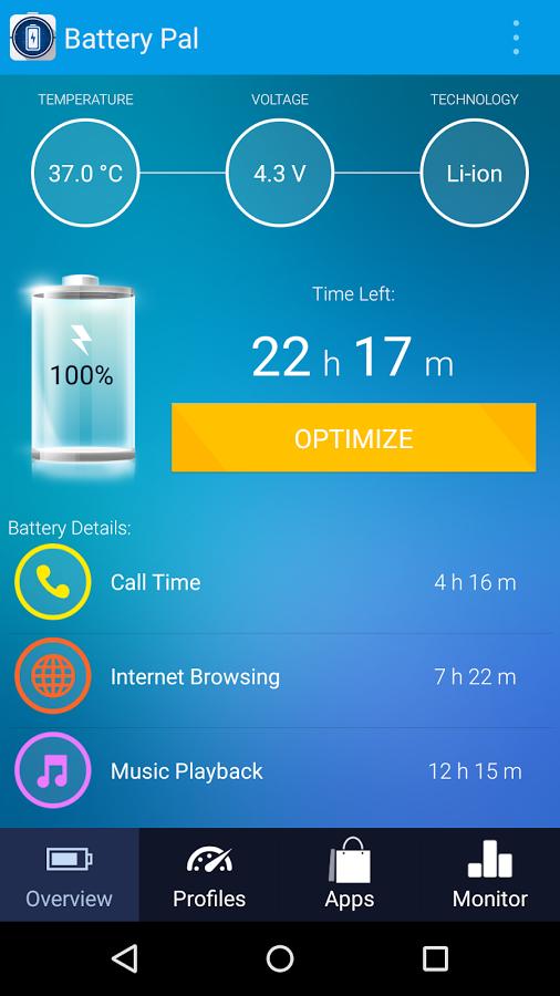 إدارة طاقة بطارية جهازك الأندرويد من الألف إلى الياء مع Battery Pal