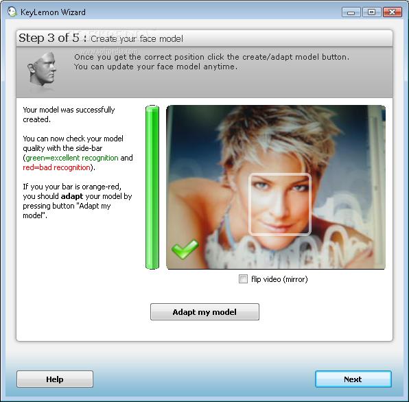 الجيل الجديد من البرامج الكمبيوتر يفتح ويقفل بمجرد رؤيتكKeyLemon 2.0.1