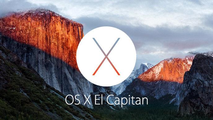 أبل تطلق اليوم تحديث OS X El Capitan مجانا