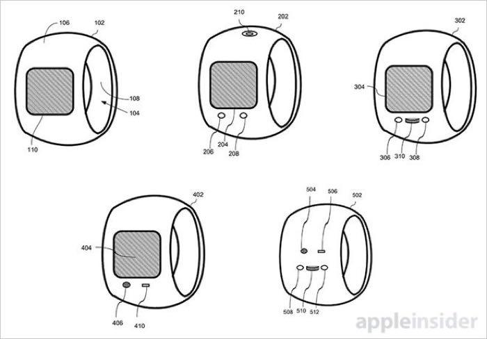 آبل تتقدم بطلب تسجيل براءة اختراع خاتم ذكي