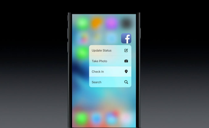 ������� ��� ����� ����� ������ ���� ����� 3D Touch