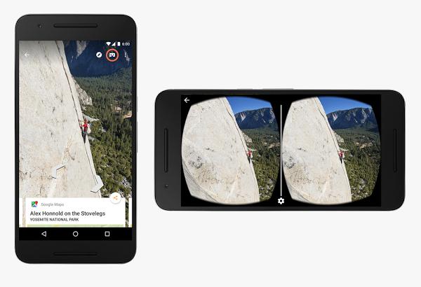 تحديث تطبيق Street View يدعم الواقع الافتراضي عبر نظارات Google Cardboard