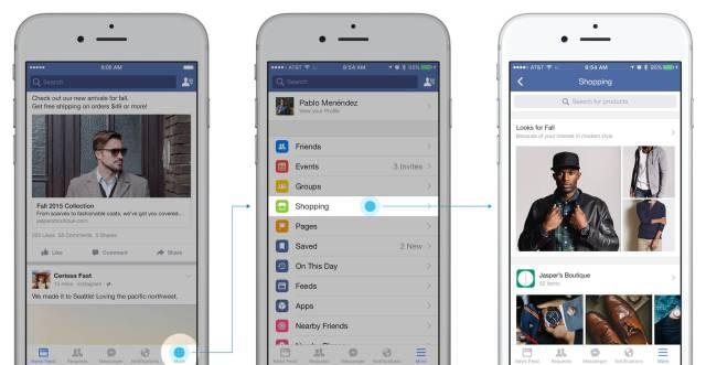 فيس بوك تحويل الشبكات الإجتماعية إلى منصات تجارة إلكترونية