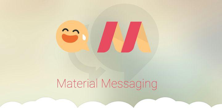 الإستفادة من تطبيق Material Messaging أفضل بديل لتطبيق الرسائل