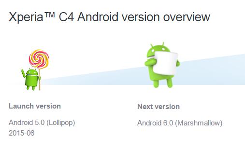 أجهزة سوني ستحصل على أندرويد 6,0 مارشملو بدون تحديث 5.1.1