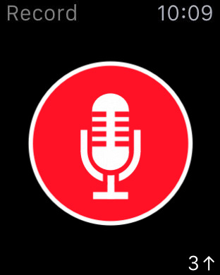 ���� ����� Just Press Record ������� ����� ��� ������� ������� ��� iOS