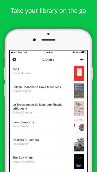 تطبيق Read المجاني البديل المثالي لتطبيق iBooks على iOS