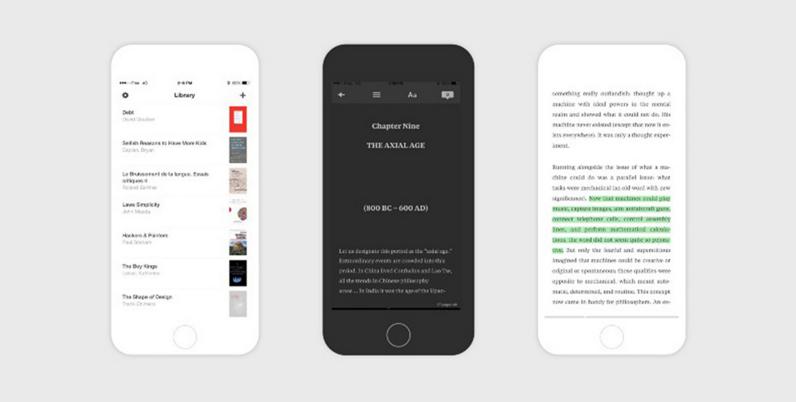 ����� Read ������� ������ ������� ������ iBooks ��� iOS
