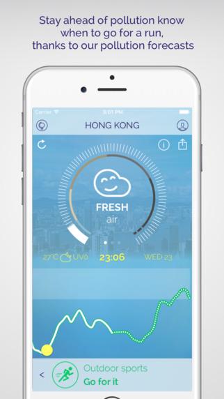 تحميل تطبيق Plume الذي يقوم بجدولة أنشطتك الخاصة حسب تلوث الجو