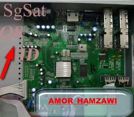 جديد اجهزة spacesat-K7 HD  sgsat Q8 HD لثلاث اقمار