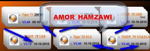 تحديثات جديدة لاجهزة الTIGER من الموقع الرسمي بتاريخ 10/10/2010